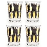If you're looking to boost your home bar's happy-hour appeal, look no further than these dazzling Monte Carlo double old fashioned glasses ($24). Black and gold feels glam without being fussy, but the eye-catching linear pattern is my favorite part.  — AE