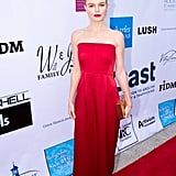 "Kate Bosworth honored survivor and mother Lorena Barrios, who was the victim of human trafficking at the hands of two separate traffickers in two different countries, saying, ""Lorena Barrios represents the best of humanity."""