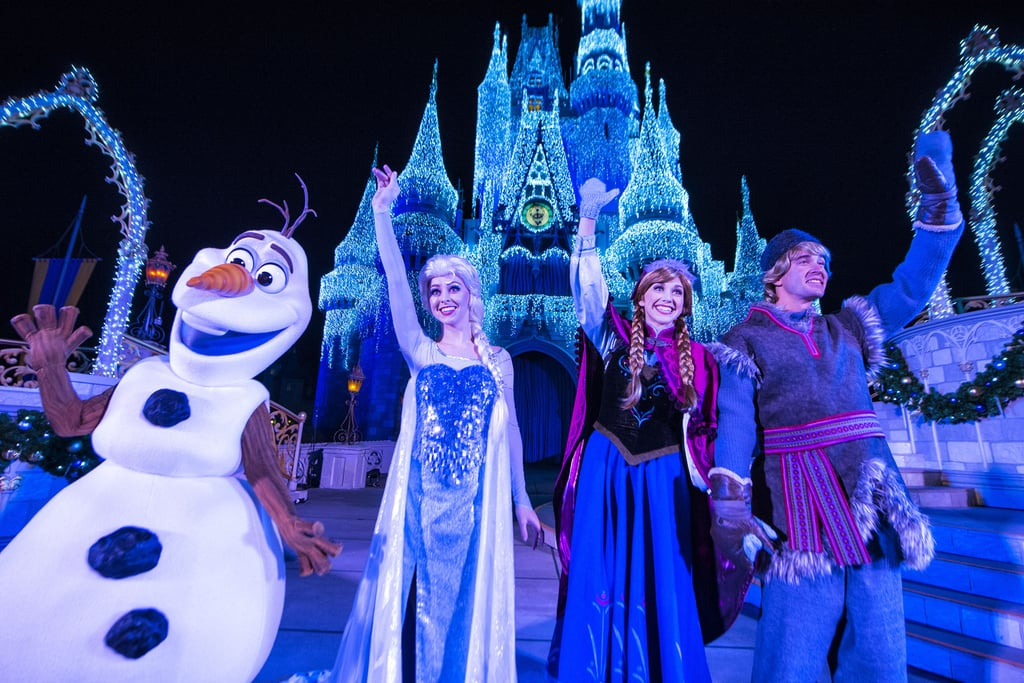 Disney World's First Castle-Lighting Show of the Holiday Season Will Be Livestreamed!