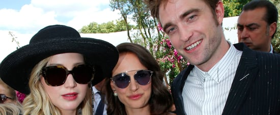 Jennifer Lawrence, Robert Pattinson, and Natalie Portman Casually Hang Out in Paris