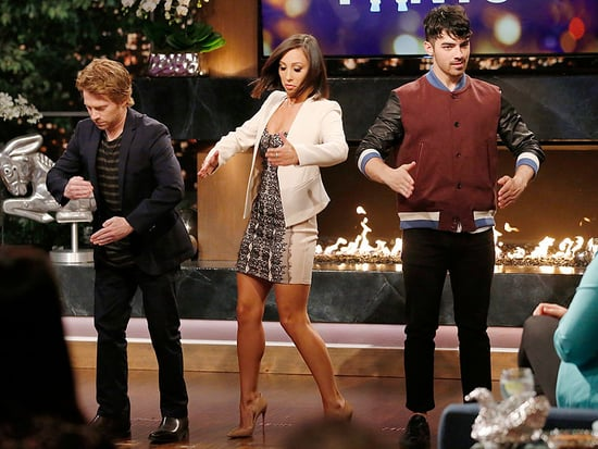 Cheryl Burke, Joe Jonas and Seth Green Have All the Right Moves on Hollywood Game Night