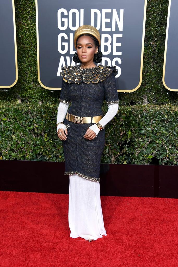 Janelle Monae Golden Globes 2019 Pictures