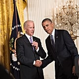 That Time When Joe Called Barack Over to Spill Some White House Gossip