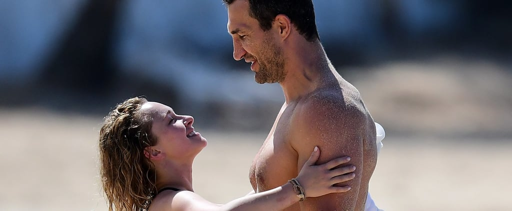 Hayden Panettiere and Wladimir Klitschko Have a Smiley, Mellow Family Beach Day in Barbados