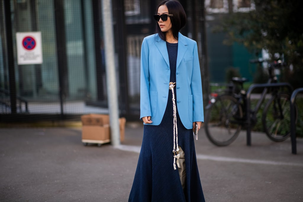 This 2-Second Style Hack Will Make Your Blazer Infinitely More Flattering