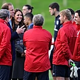 Prince William and Kate Middleton at Soccer Event | Pictures