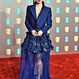 Lily Collins at the 2019 BAFTA Awards