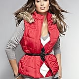 New York and Co. Faux Fur Trim Puffer ($40)