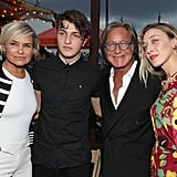 The Hadid family showed their support for Gigi.