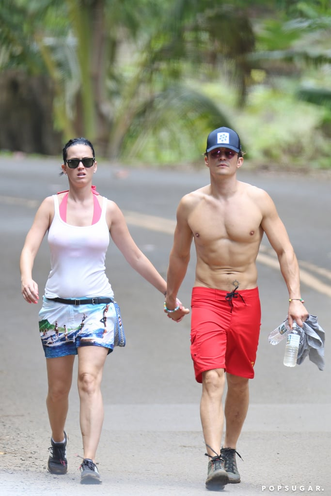 Katy Perry Shows Off Her Bikini Body While Holding Hands With Orlando Bloom