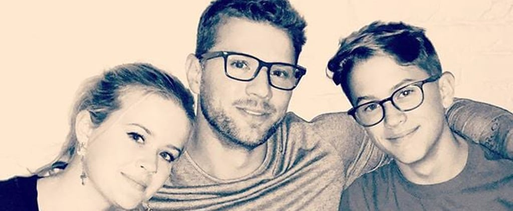 Ryan Phillippe With Ava and Deacon Pictures