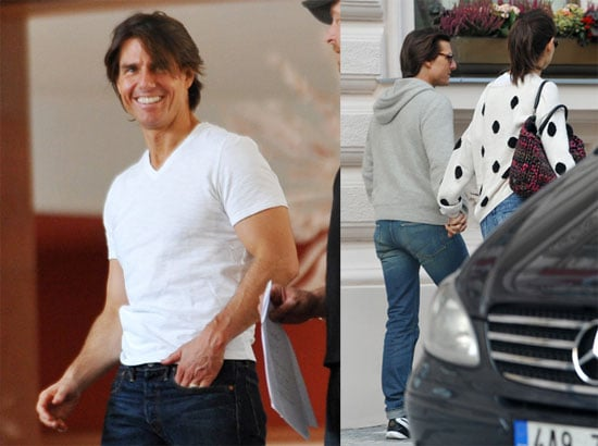 Pictures of Tom Cruise Scouting Locations For Mission Impossible 4 in Prague