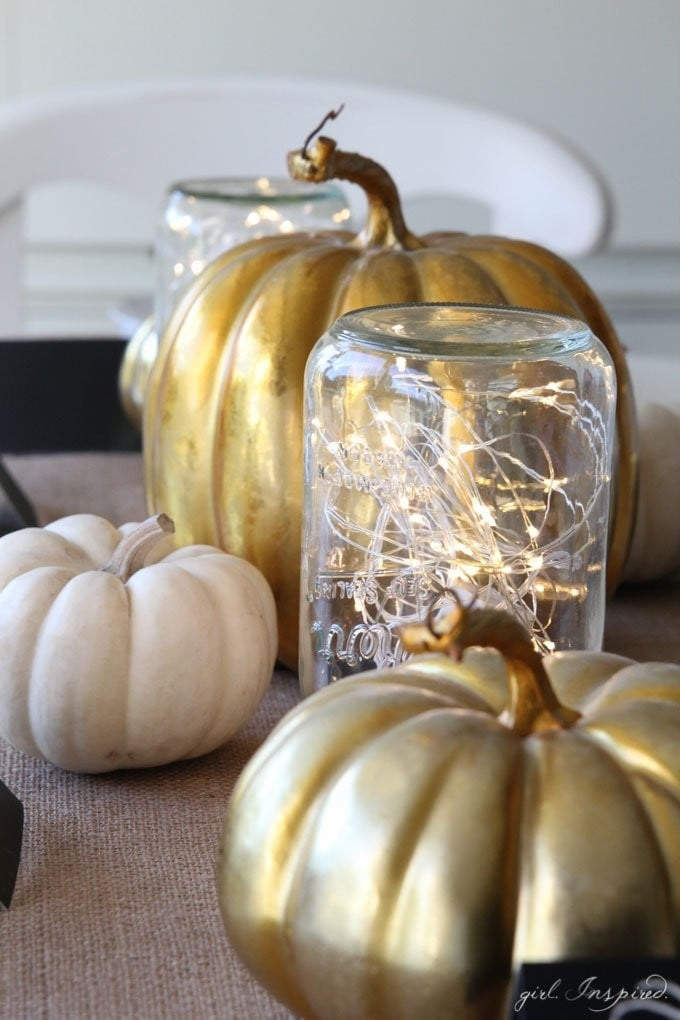 Mason Jar Thanksgiving Decorating Ideas | POPSUGAR Home