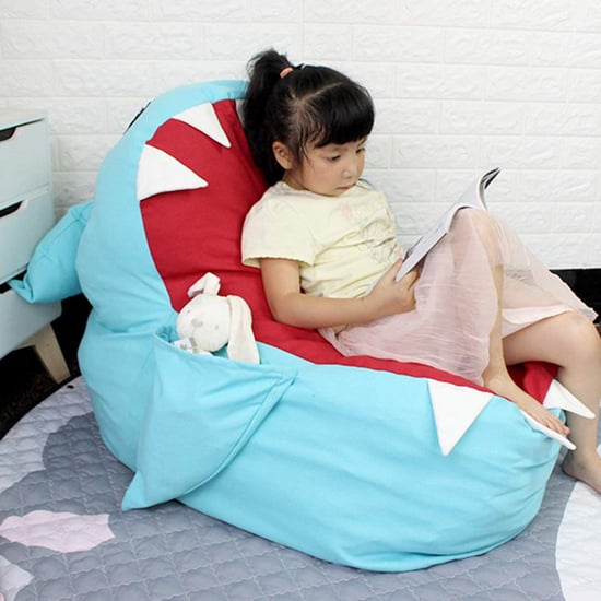 Stuff All Your Kid's Toys in this Baby Shark Storage Chair