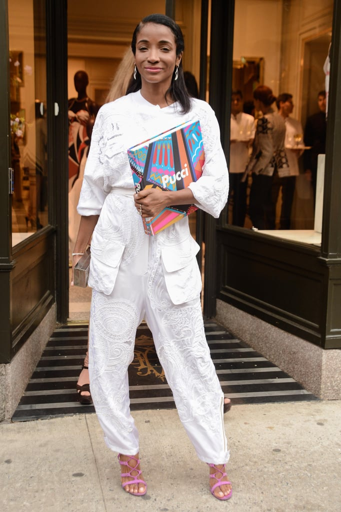 Genevieve Jones at the Pucci book cocktail party in New York. Source: Joe Schildhorn/BFAnyc.com