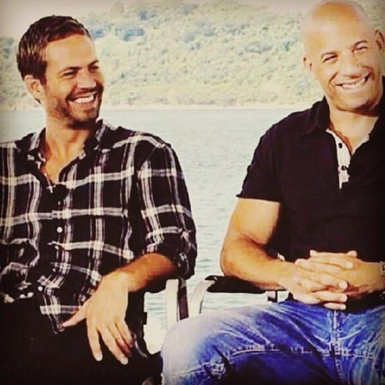 Vin Diesel's Tribute to Paul Walker Instagram Picture 2016