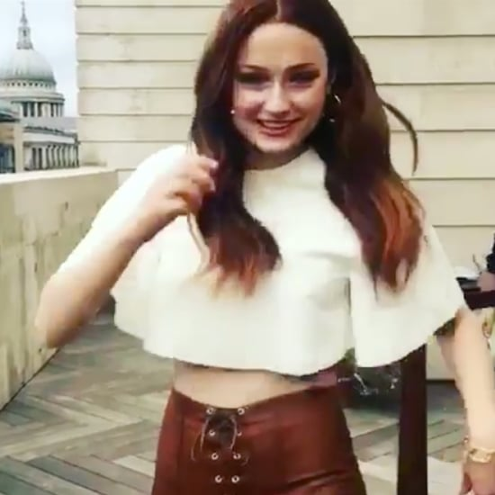Sophie Turner Impersonating Britney Spears Instagram Video