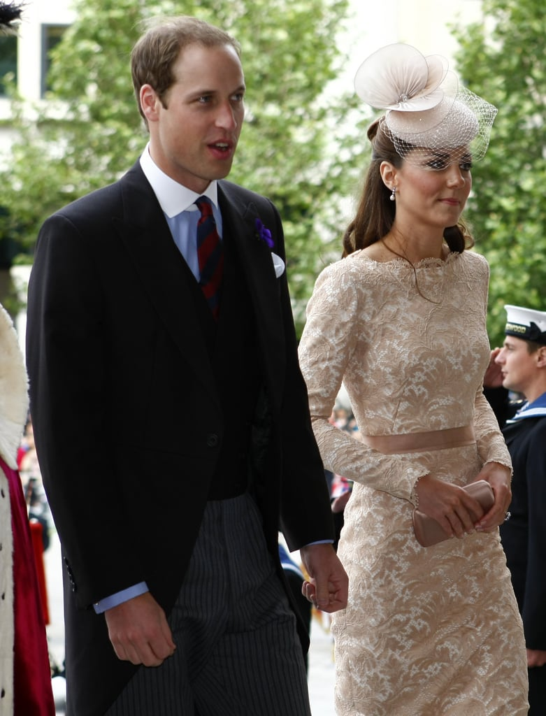 As part of the Diamond Jubilee, the royal couple attended a service at St. Paul's Cathedral in June 2012.