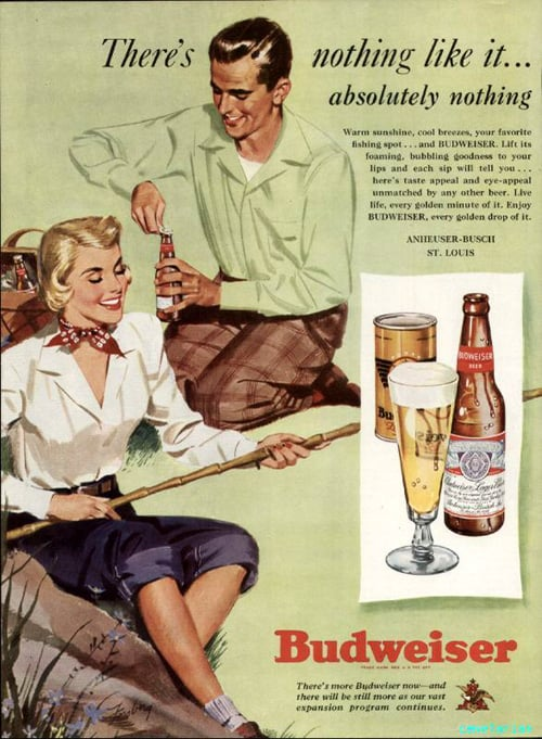 Does drinking beer make fishing less boring?