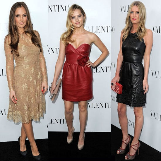 Rachel Zoe, Minka Kelly, Teresa Palmer, Kim Kardashian and more Step Out at Valentino's Celebrity-Packed Store Opening