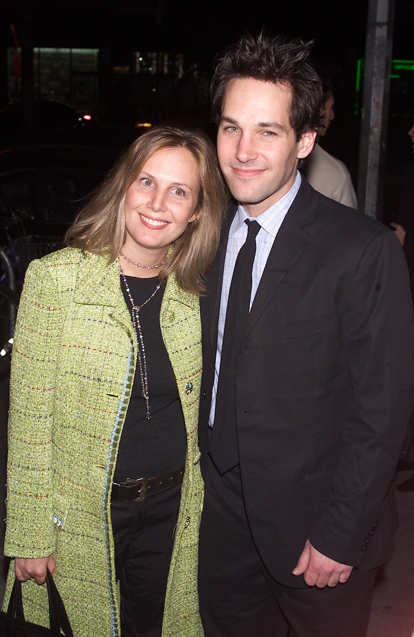 Pictures Of Paul Rudd And His Wife Julie Yaeger Popsugar Celebrity