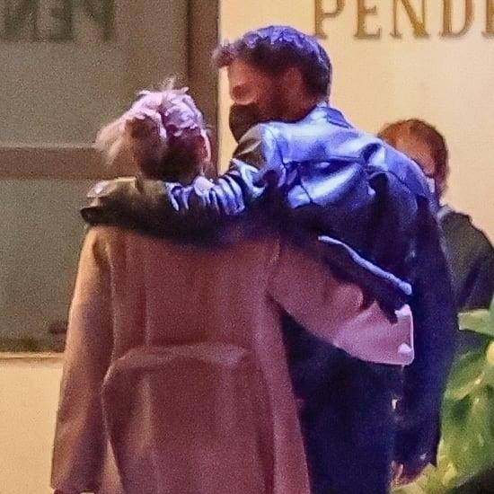 Jennifer Lopez and Ben Affleck Hugging-in-LA Pictures
