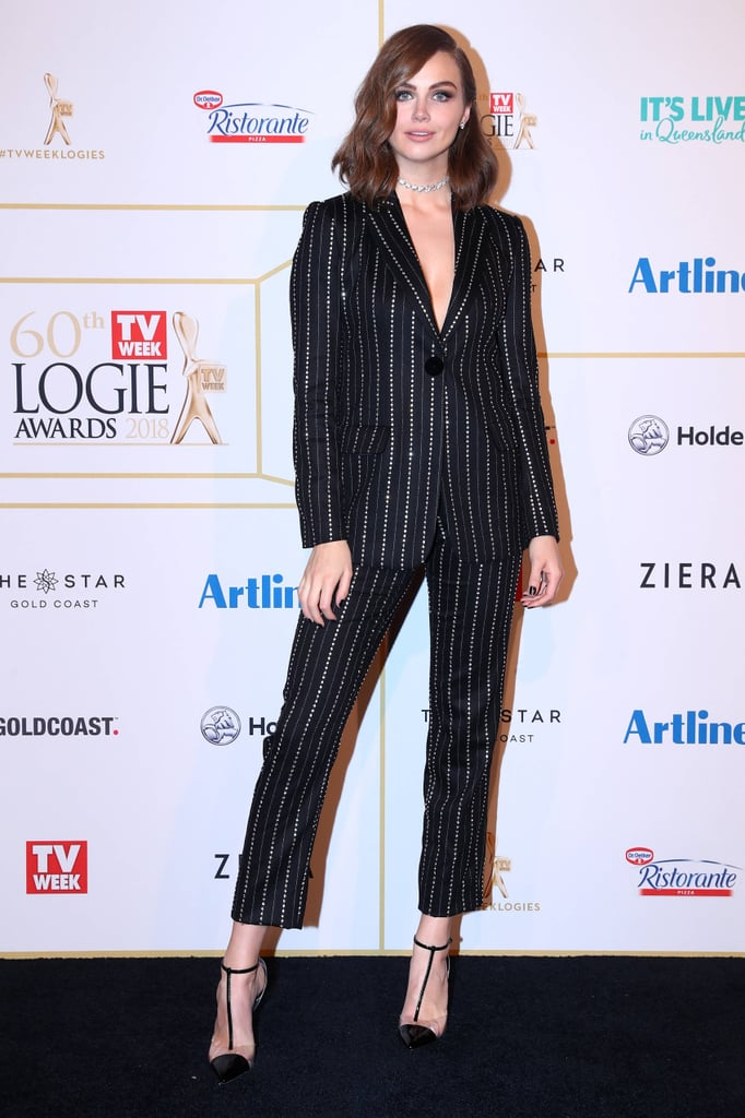 Best Dressed Celebrities at the 2018 Logie Awards