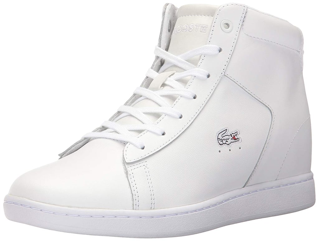 10c8391c78cce Lacoste Carnaby Evo Wedge High Top