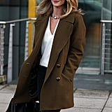Rosie Huntington-Whiteley looked effortlessly chic on Wednesday in London.