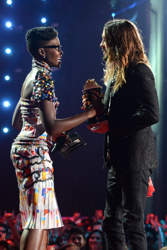 Best Romantic Fan Fiction That Pretty Much Writes Itself: Lupita Nyong'o and Jared Leto