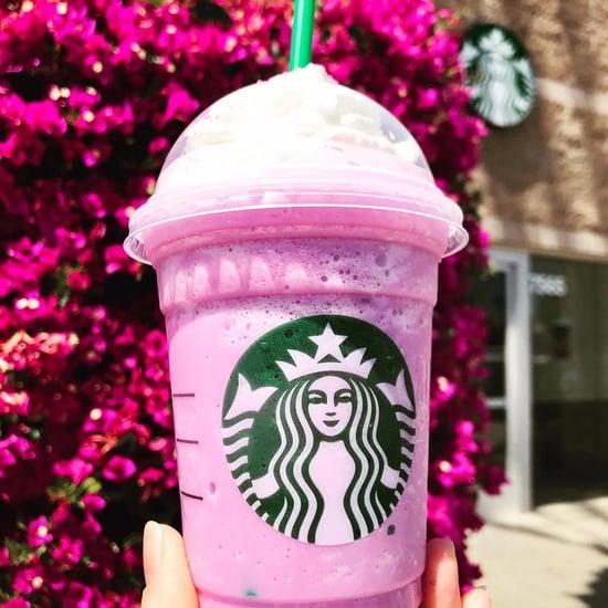 Starbucks Pink Pegasus Frappuccino