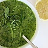 Gwyneth's Goop Detox: Broccoli and Rocket Soup