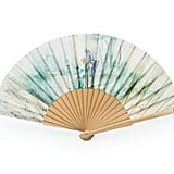 Historic Royal Palaces Luxury Green Paper Hand Fan