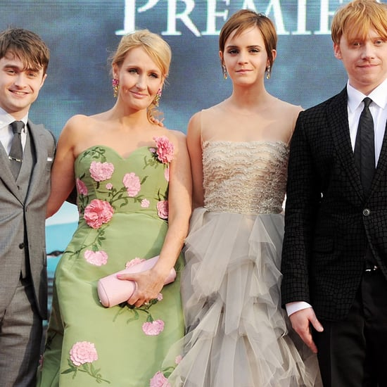 JK Rowling and the Harry Potter Cast Through the Years