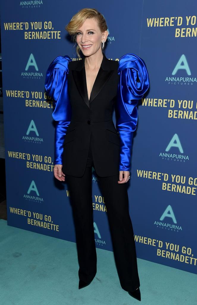 Cate Blanchett Wearing Alexander McQueen