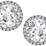 Kiki McDonough Grace White Topaz & Diamond Stud Earrings ($1,190)