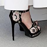 Elle Fanning's Alexander McQueen Heels