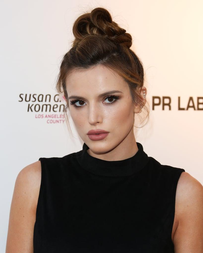 Bella Thorne's Auburn Hair June 2016