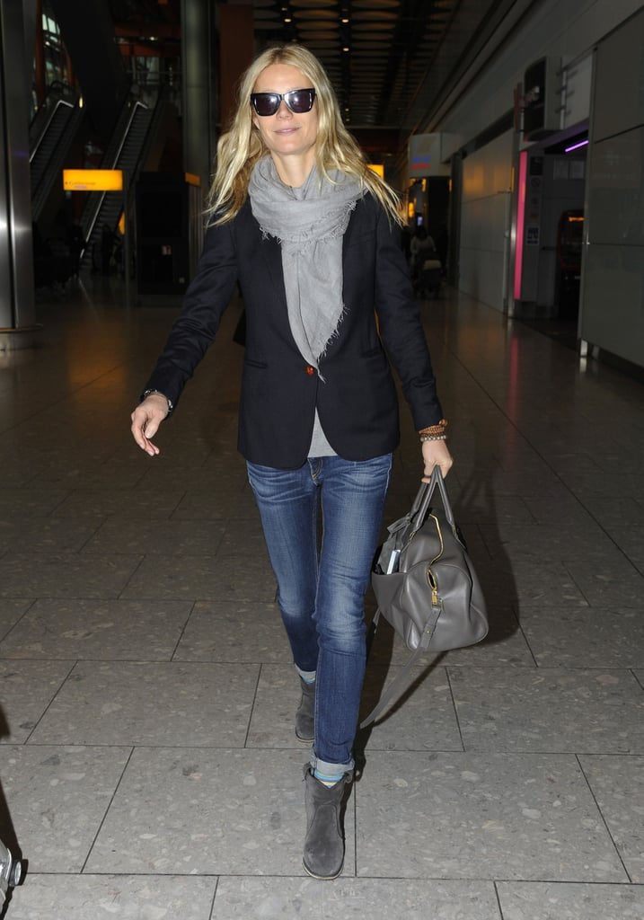 Gwyneth Paltrow headed to her London home.