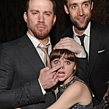 Channing Tatum joked around with Joey King and Reid Carolin while partying after the premiere of White House Down in NYC in June.