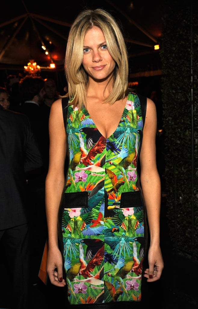 Brooklyn Decker attended The Hollywood Reporter's pre-Oscars bash.
