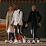 Katie Holmes With Corinne and Jamie Foxx in LA April 2019