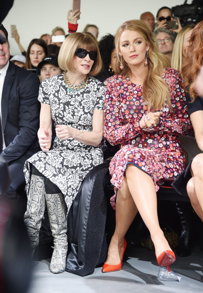 Celebrities Front Row at New York Fashion Week Fall 2017 ...