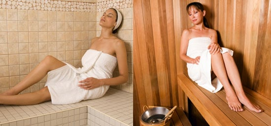 What S Your Preference Steam Rooms Or Saunas Popsugar