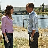 Jennifer Carpenter as Debora Morgan and Desmond Harrington as Joey Quinn on Dexter.  Photo courtesy of Showtime
