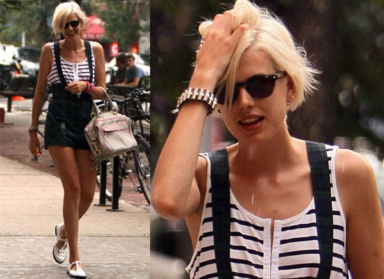 Agyness Deyn Out In New York