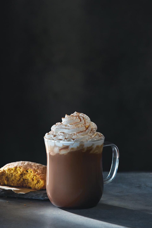Peets Dark Chocolate Pumpkin Mocha POPSUGAR Food