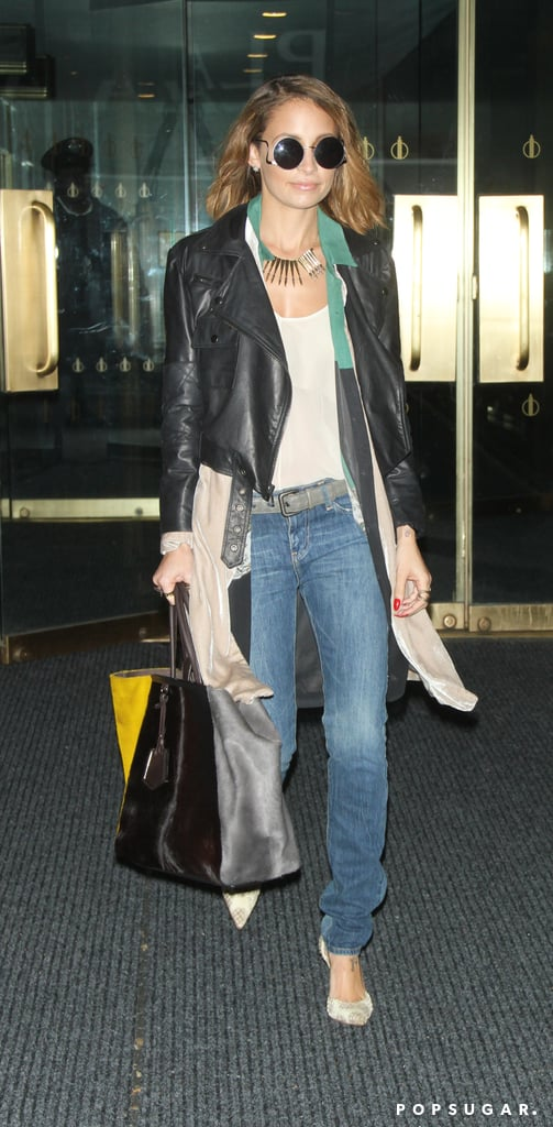 Nicole Richie kept it casual in NYC.