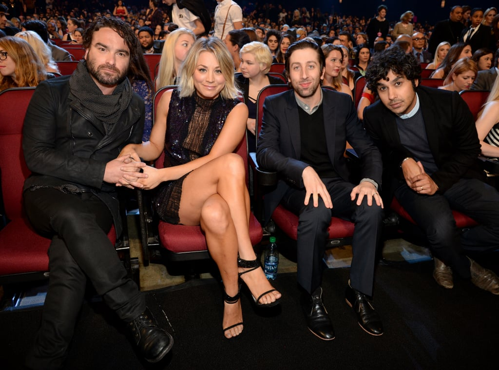 Kaley Cuoco Johnny Galecki at People's Choice Awards 2016 ...