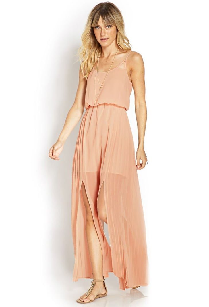 Forever 21 Caged Cami Maxi Dress ($28) | Beach Wedding ...